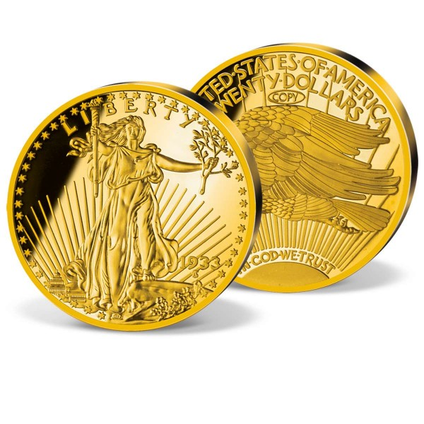 "Jumboprägung ""1933 Gold Double Eagle"" CH_8201700_1"