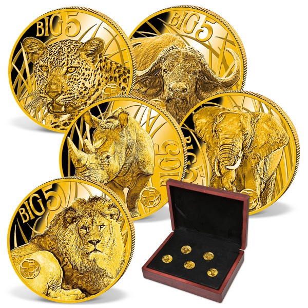 "5er Goldmünzen-Set  ""Big Five"" CH_1683506_1"